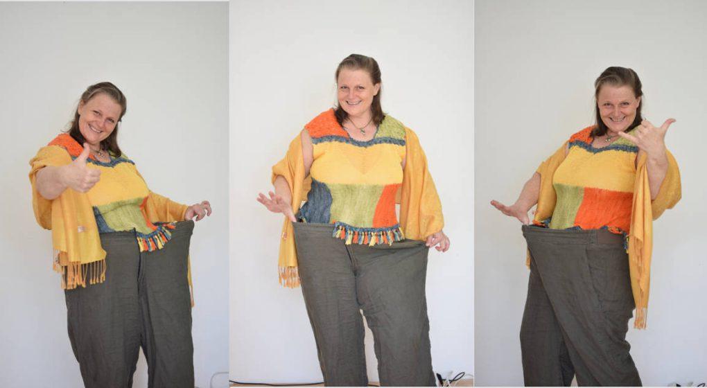 Zehn Kilo in fünf Wochen und 16 cm Bauchfett weniger