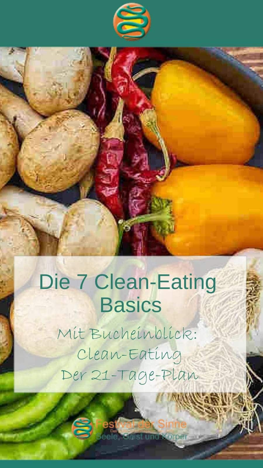 DIe 7 #Cleaneating #Basics #Buchtipp (Pin)