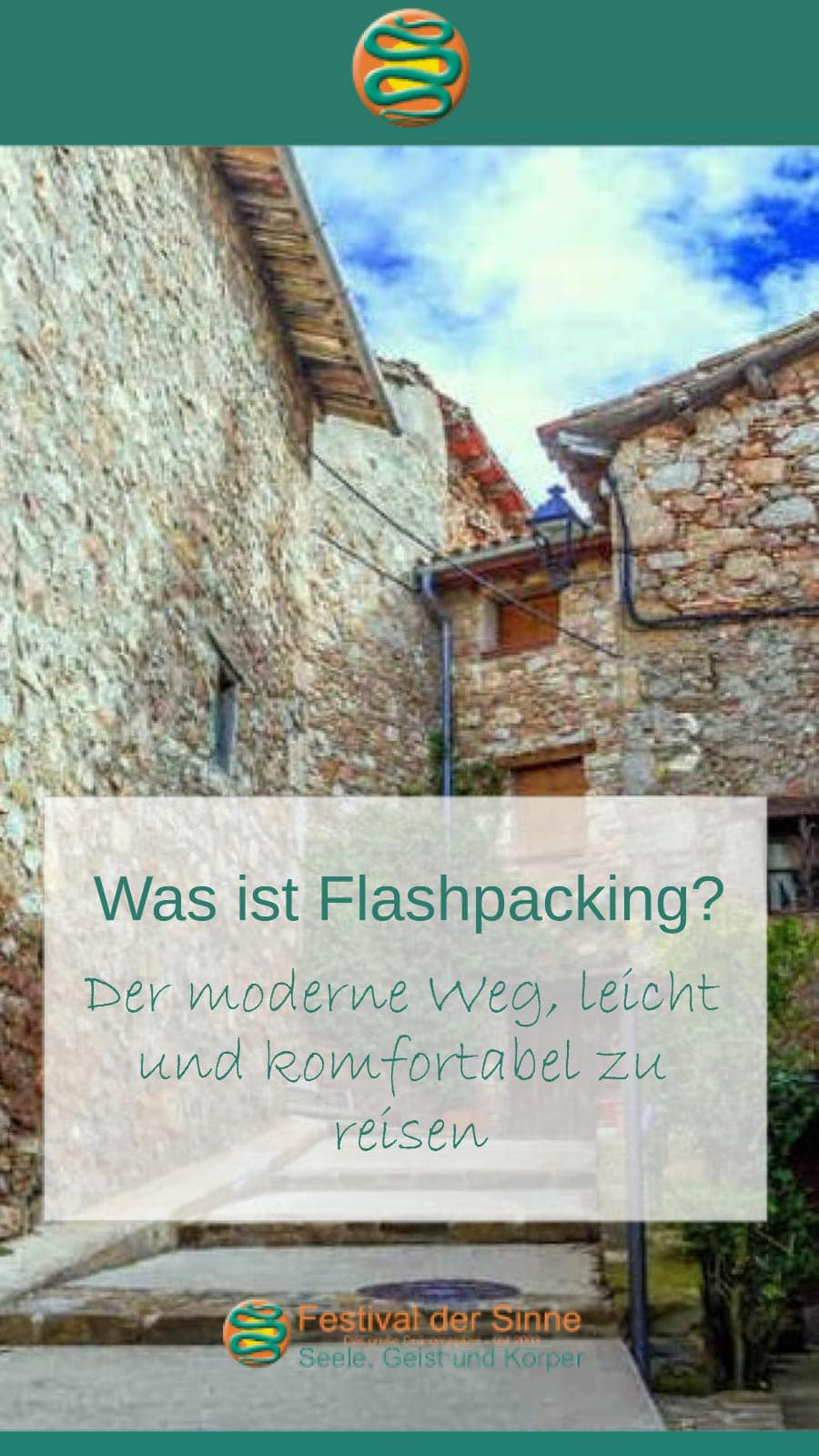 Was ist #Flashpacking (Pin)
